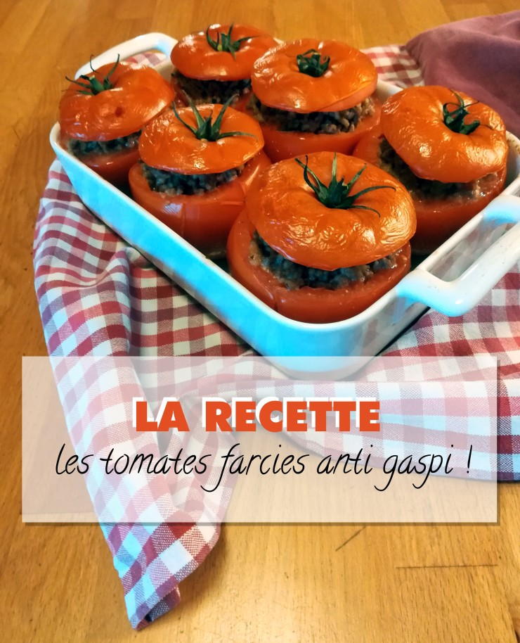 Recette tomates farcies anti gaspi