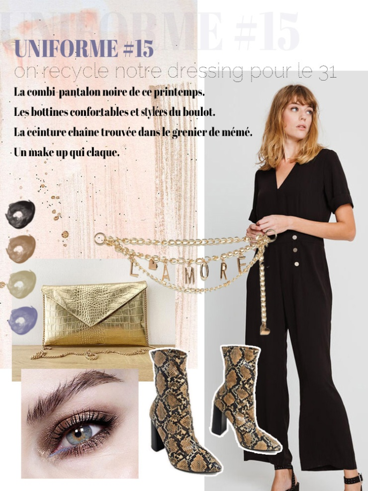 Idée simple tenue du nouvel an